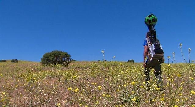 Google Trekker porta Street View oltre le strade