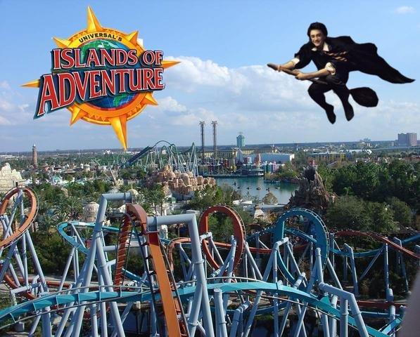 Harry Potter nel parco a tema vince ogni crisi