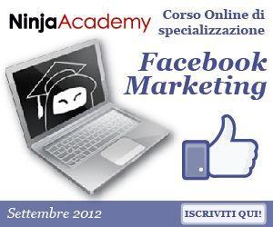 Corso online in Facebook Marketing: scopri come progettare strategie di marketing a 360 gradi su Facebook!