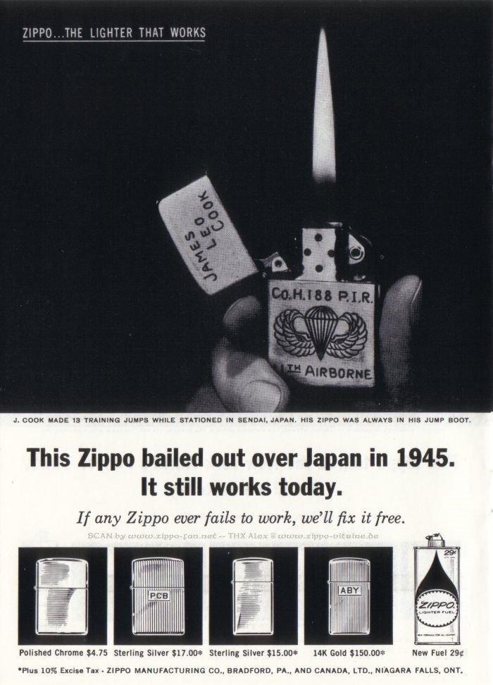 Zippo, un brand che ha fatto storia