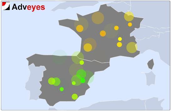 AdvEyes Monitoraggio e test di servizi mobile in tutto il mondo