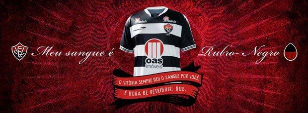 Esporte Clube Vitória sensibilizza i tifosi sulla donazione di sangue