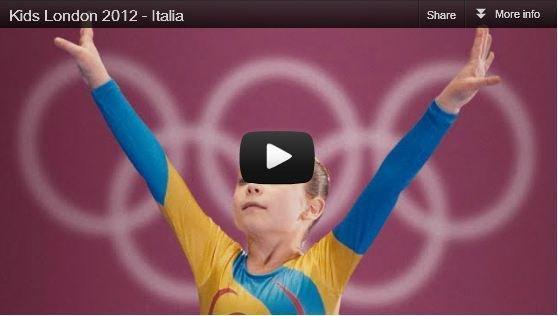 Kids, il nuovo spot della P&G per le olimpiadi di Londra 2012