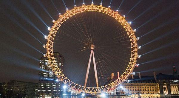 Olimpiadi 2012: Twitter e il London Eye ci regalano uno spettacolo di luci
