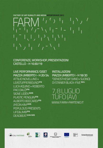 FARM: il 7 e l'8 Luglio a Tufo si parla di nuove tecnologie e ruralità [EVENTO]