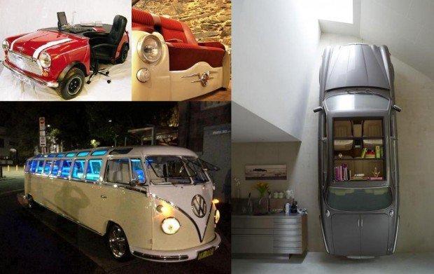 Vintage Contemporaneo: la nuova vita di macchine, bus e roulotte
