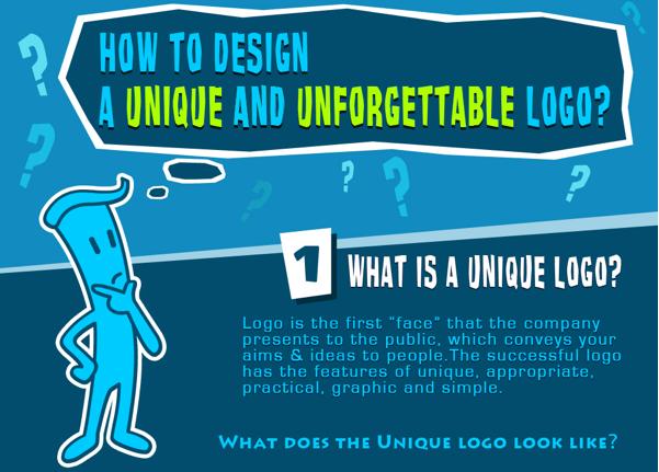 Come creare un logo unico ed indimenticabile [INFOGRAFICA]