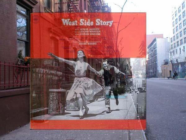 Le cover dei vinili ritrovano casa nelle foto di Bob Egan