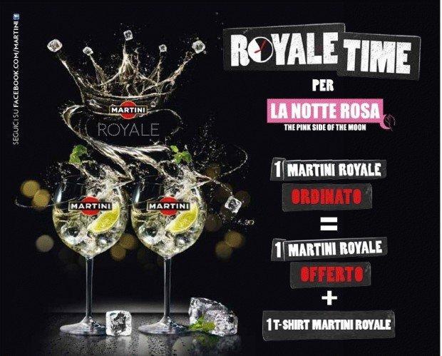 La Notte Rosa è royale, con Martini [NINJA REPORT]
