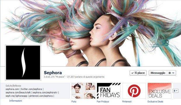 Sephora concorso su Facebook