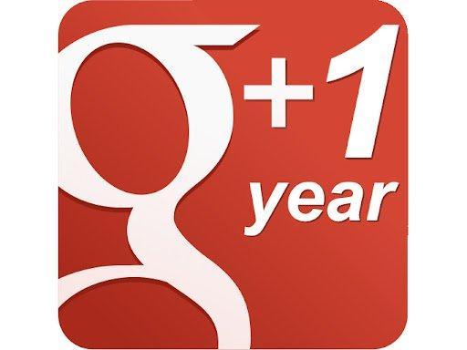 Google Plus ha compiuto un anno: alcune statistiche e una bella novità