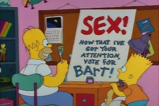 simpsons sex bart