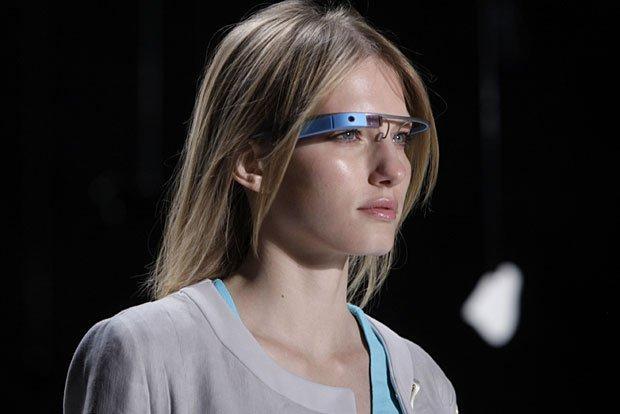 Google Glass alla settimana della moda di NY