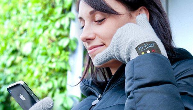Hi-Call, guanti Bluetooth per usare il vostro smartphone anche d'inverno!