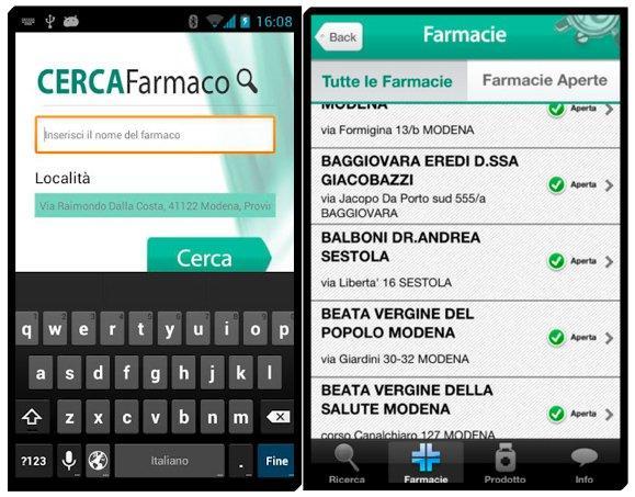 Farmacia a portata di app