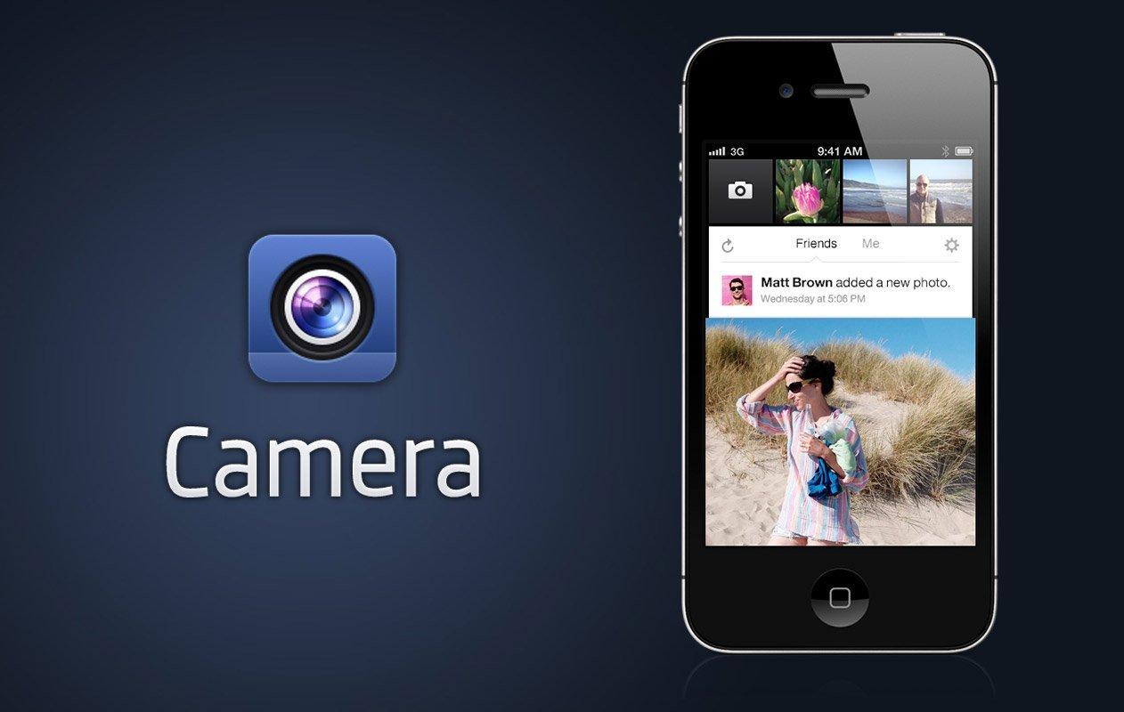 Facebook Camera finalmente in Italia