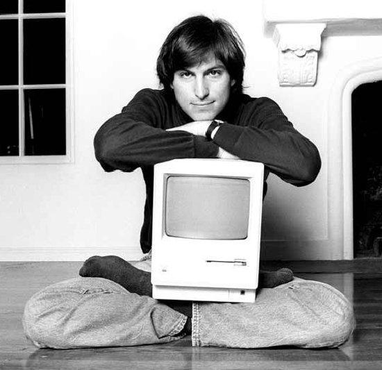 Un inedito Steve Jobs nelle foto di Norman Seeff