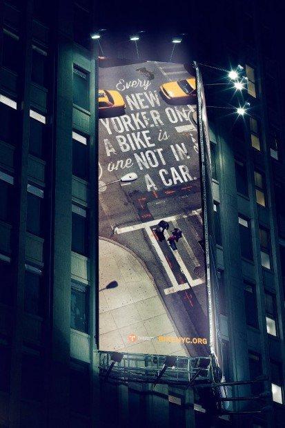 Dai taxi gialli alle biciclette: la campagna green di New York
