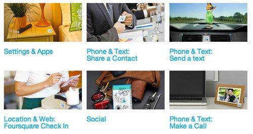 TecTiles: gli stickers NFC che interagiscono con il cellulare!