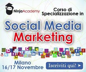 Corso in Aula in Social Media Marketing