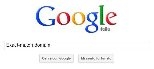 Exact-Match Domain su Google
