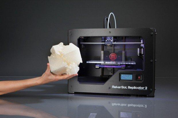 Makerbot Replicator 2, la stampante 3D casalinga