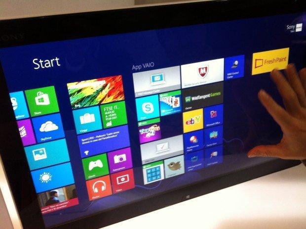Microsoft Windows 8: benvenuti nella generazione touch