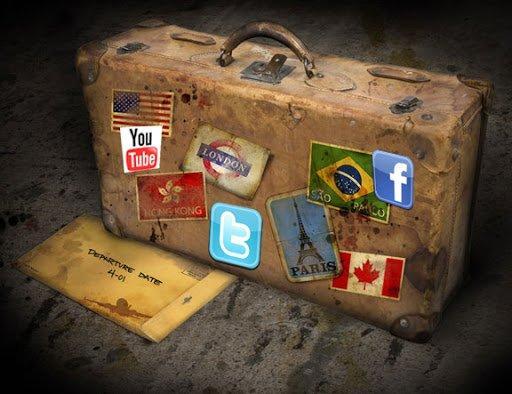 Dimmi come usi i social media e ti dirò che tipo di viaggiatore sei! [INFOGRAFICA]