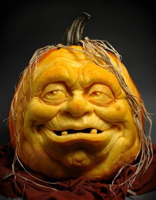 Zucche Di Halloween Terrificanti.Zucche Di Halloween By Ray Villafane