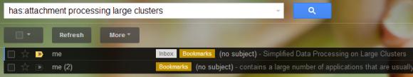 la nuova funzione di gmail per trovare i files in allegato