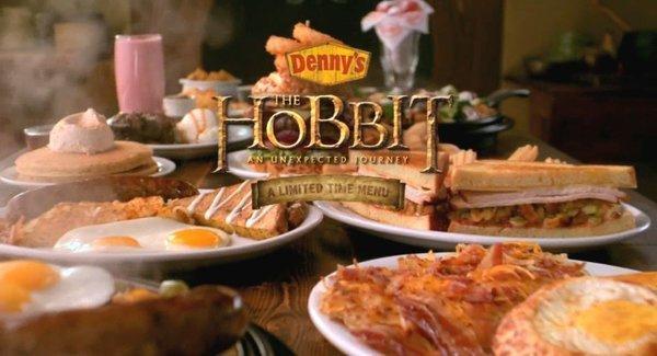 Denny's, la catena di ristorazione lancia un menu Hobbit