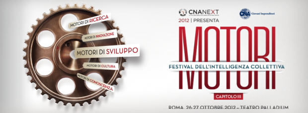 MOTORI – Il Festival dell'Intelligenza Collettiva: ancora pochi posti disponibili! [EVENTO]