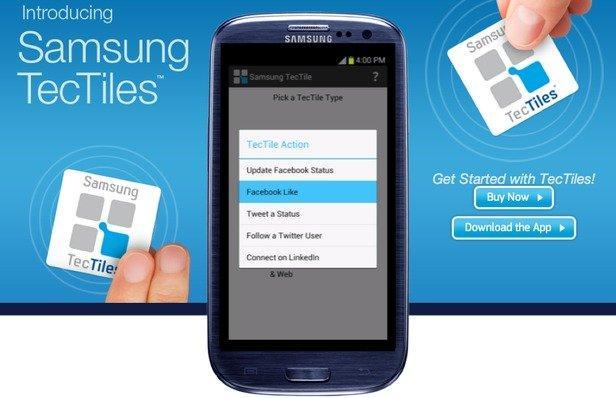 TecTiles: gli sticker NFC che interagiscono con il cellulare!