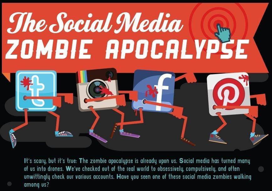 I social media vi hanno ridotto a zombie digitali? [INFOGRAFICA]