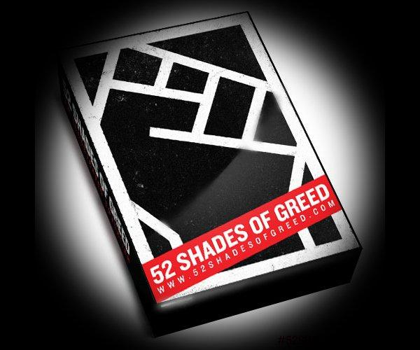 52 Shades of Greed, le carte di Occupy Wall Street