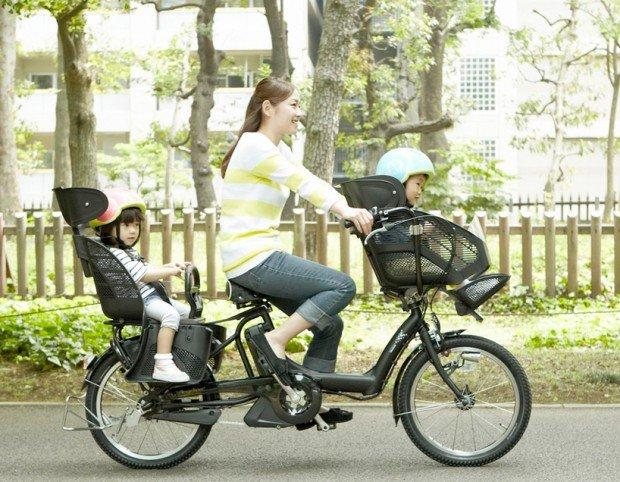 Bici high-tech per mamme e papà eco friendly
