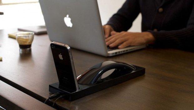 Curve Bluetooth iDocks, rispondere al telefono in stile retrò