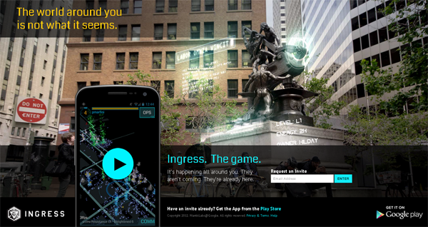 Google Ingress: il mobile game della vita reale