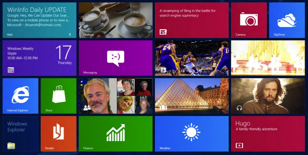 Live Tile Experiment: un'azione di guerrilla per lanciare Windows 8
