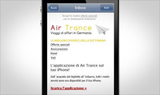 Le caratteristiche dell'email ottimizzata per mobile