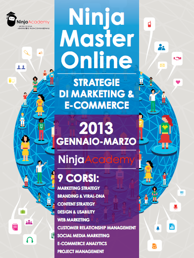 Strategie di Marketing & E-commerce: il nuovo Master Online di Ninja Academy!