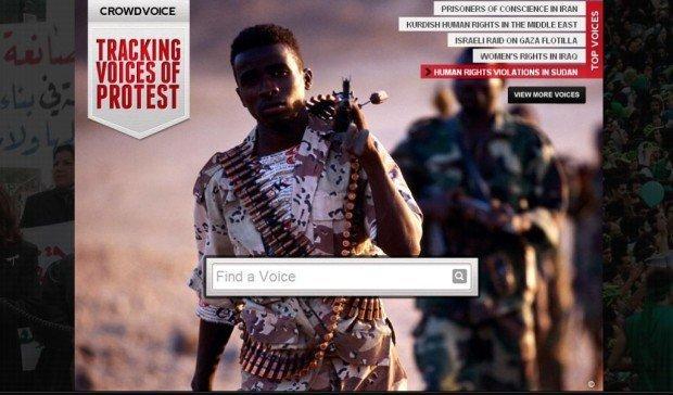 Crowdvoice, il sito nato per dare voce e visibilità ai movimenti di protesta