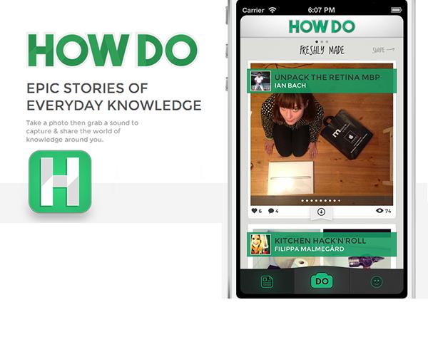 HowDo, l'app per condividere utilmente le tue esperienze [INTERVISTA]
