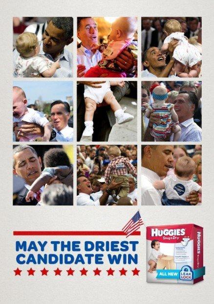 Obama e i pannolini, l'aspirina ed Amnesty: i migliori annunci stampa della settimana