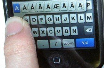 "La Tastiera ""invisibile"" per iPhone: Vibrative Virtual Keyboard"