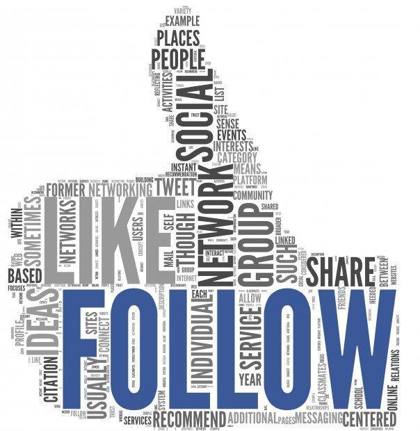 Le 5 tipologie di follower che ogni azienda dovrebbe avere sul social web [INFOGRAFICA]