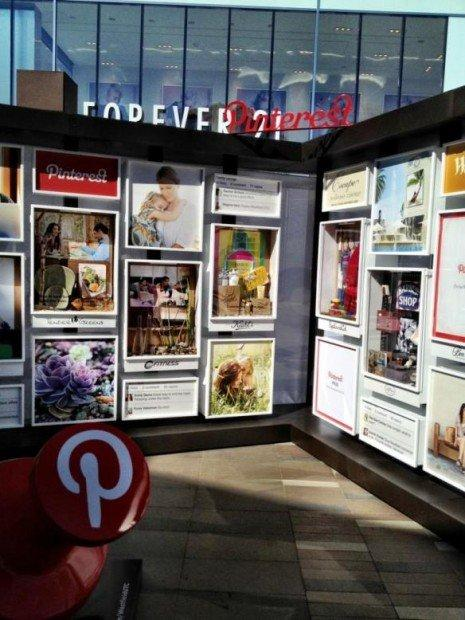 Pinterest concept store, a San Diego il primo pinboard ambient
