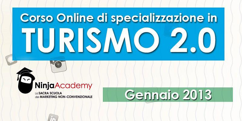 Corso Online in Turismo 2.0: progetta strategie vincenti di marketing turistico!