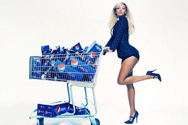 Beyoncè è il nuovo volto delle lattine Pepsi