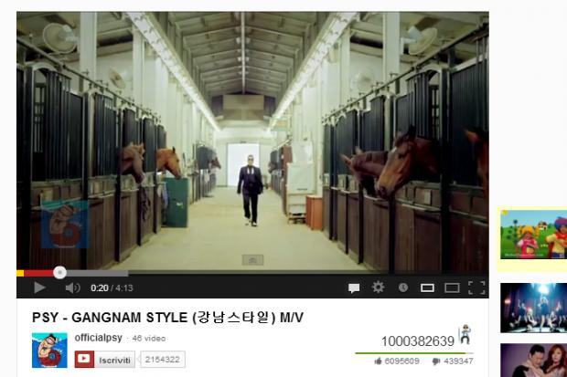 Gangnam Style supera 1 miliardo di visualizzazioni! [BREAKING NEWS]